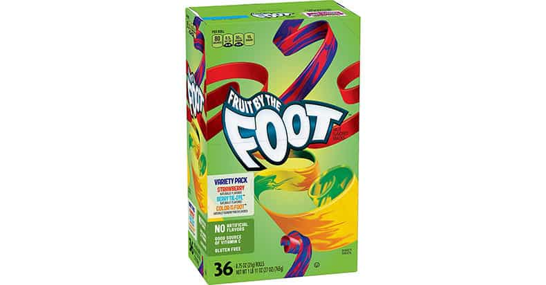 Is Fruit By The Foot Vegan