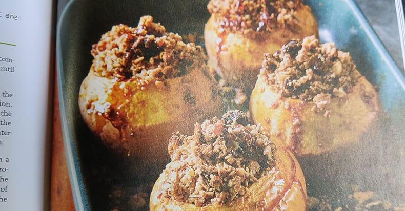 Baked Apple Crumbles Vegan Recipe