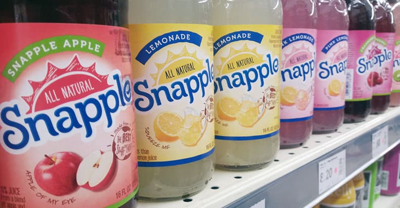 Is Snapple Vegan?